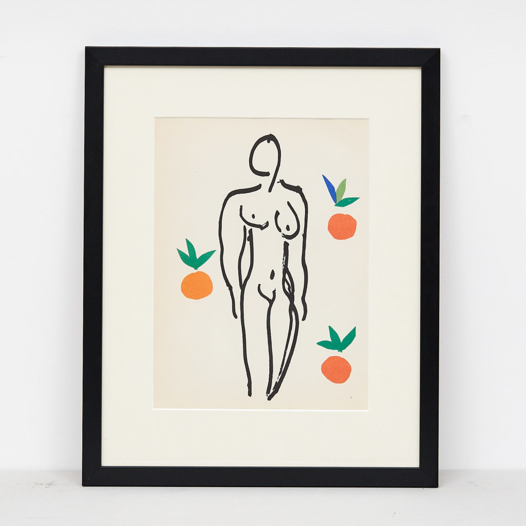 Matisse 'cut-out' Lithograph, -0