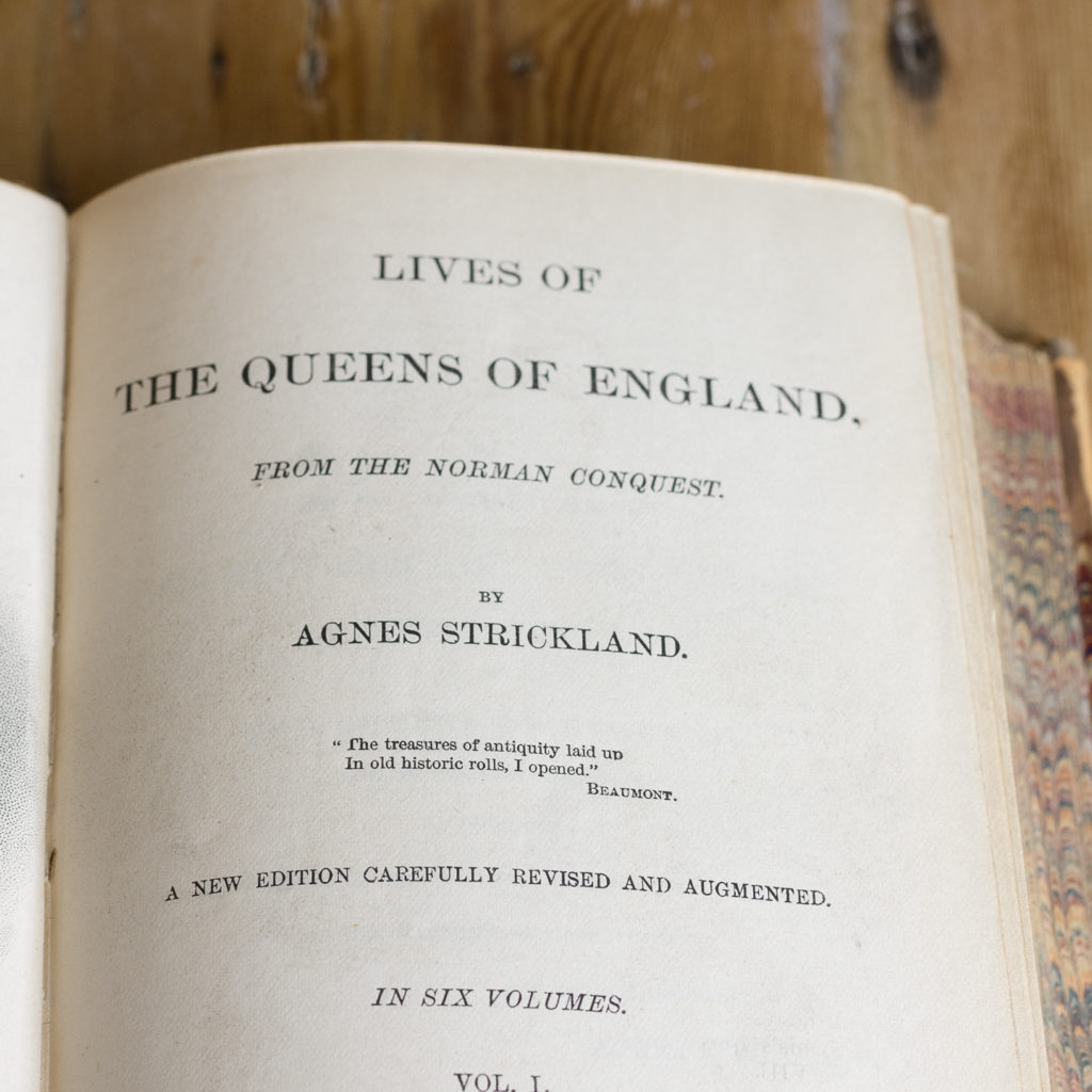 Lives of the Queens of England from the Norman conquest,-117581
