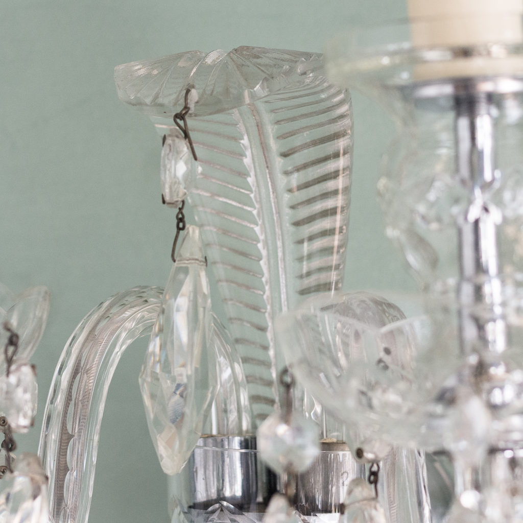 Twin light glass wall sconces,-117933