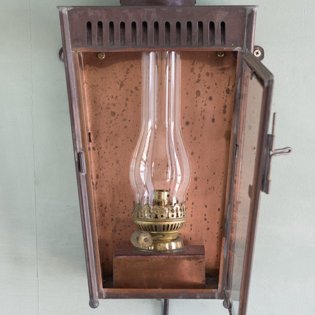 English copper stable lantern,-117545