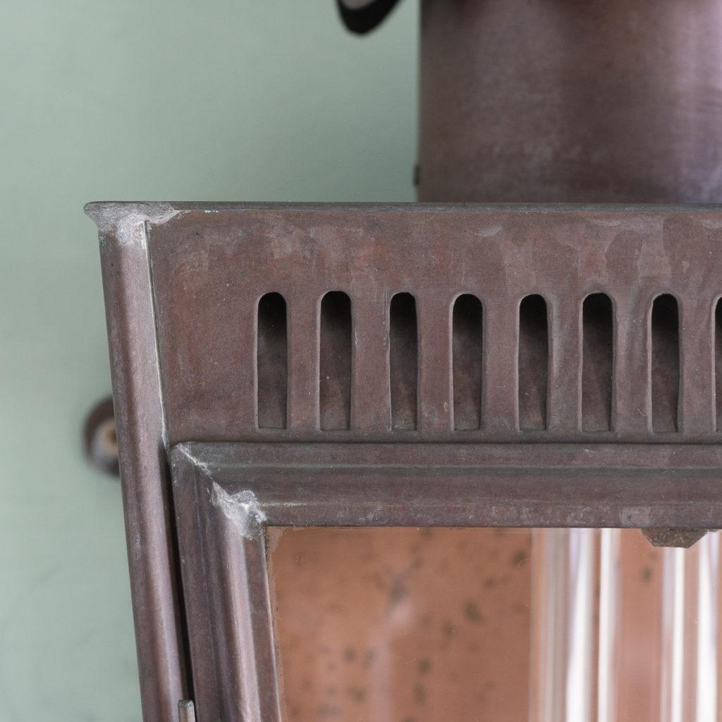 English copper stable lantern,-117546