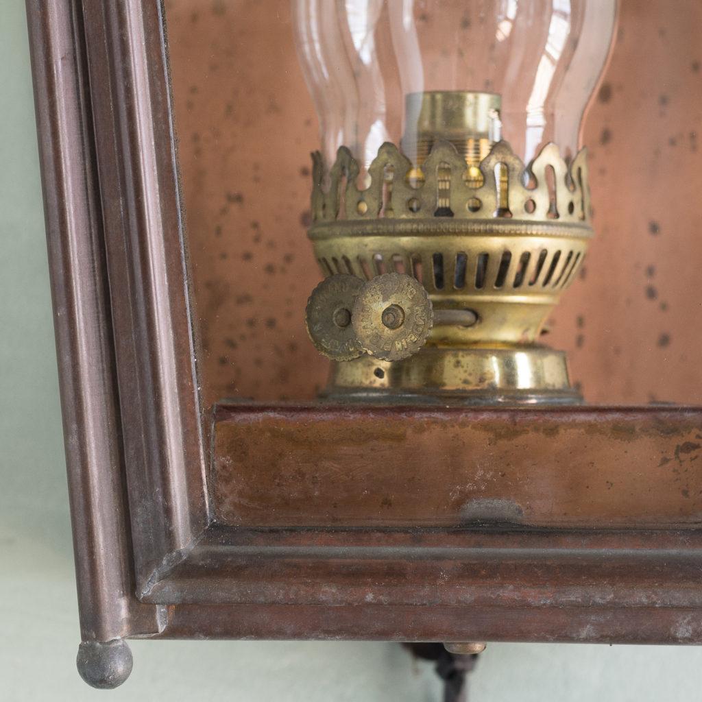 English copper stable lantern,-117543