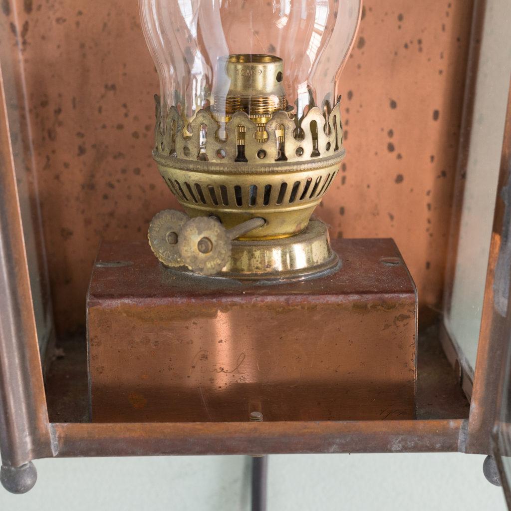 English copper stable lantern,-117544