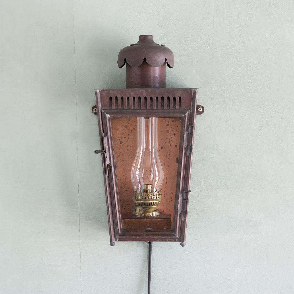 English copper stable lantern,-117542