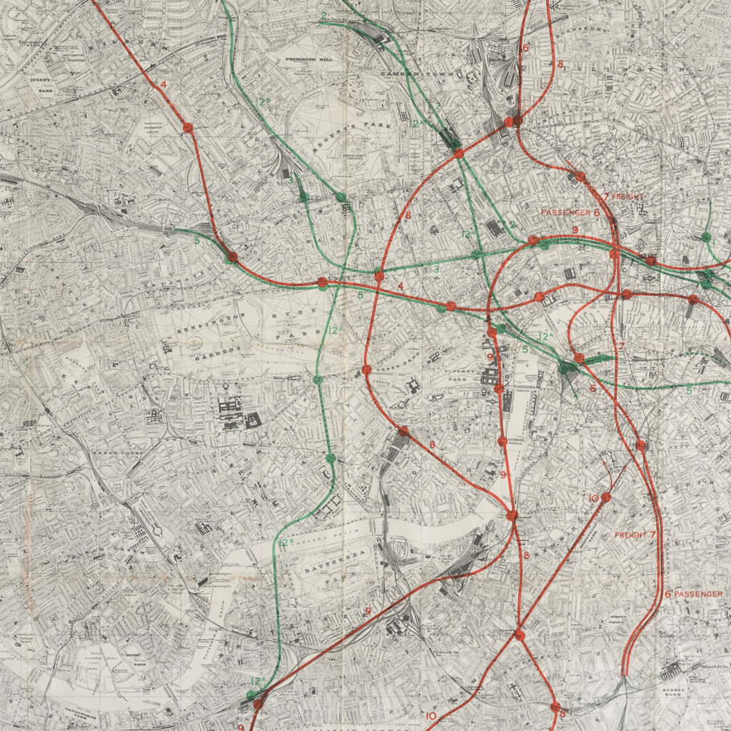 Proposed London Railway Networks,-117813