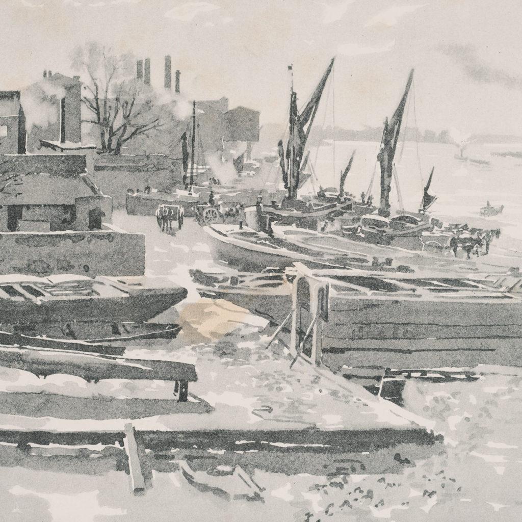 London City Suburbs, original half-tone prints published 1893-117752