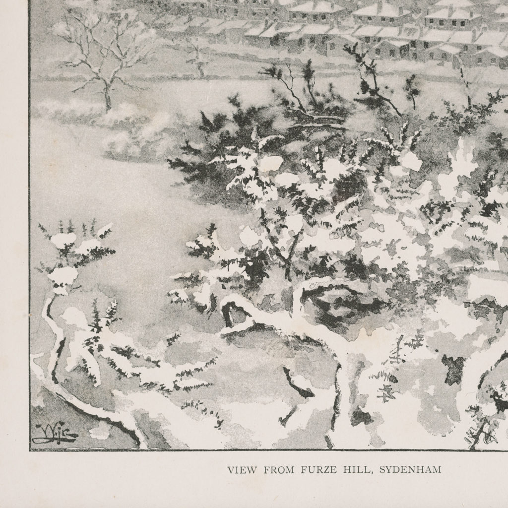 London City Suburbs, original half-tone prints published 1893-117744