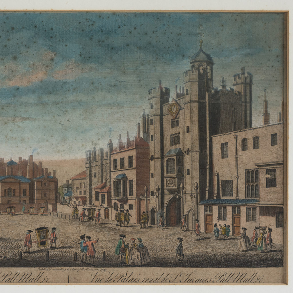 View of St. James's Palace,-117731