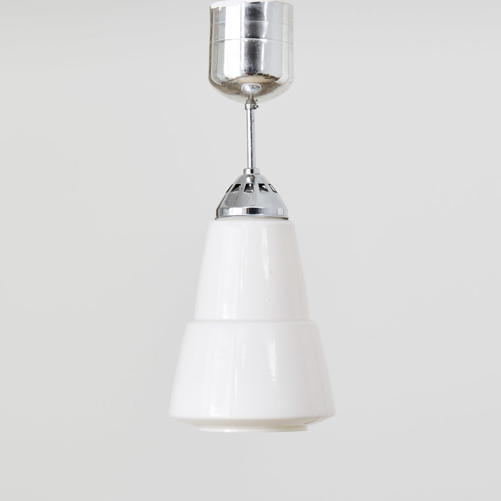 Opalescent light fitting,-0