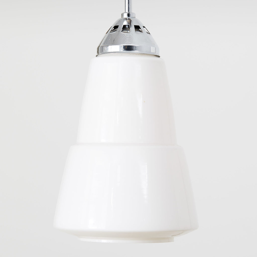 Opalescent light fitting,-118082