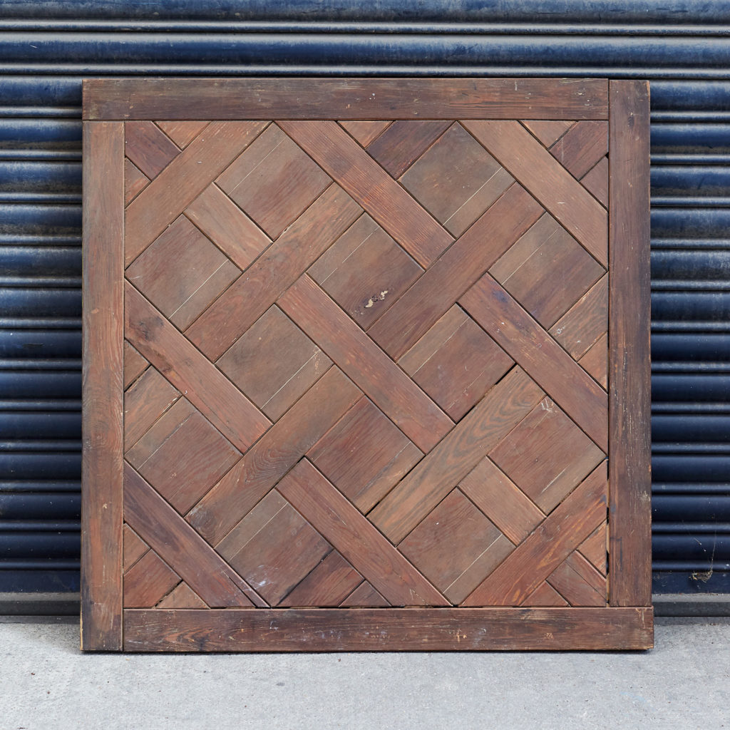 Oak Parquet de Versailles panel,-0