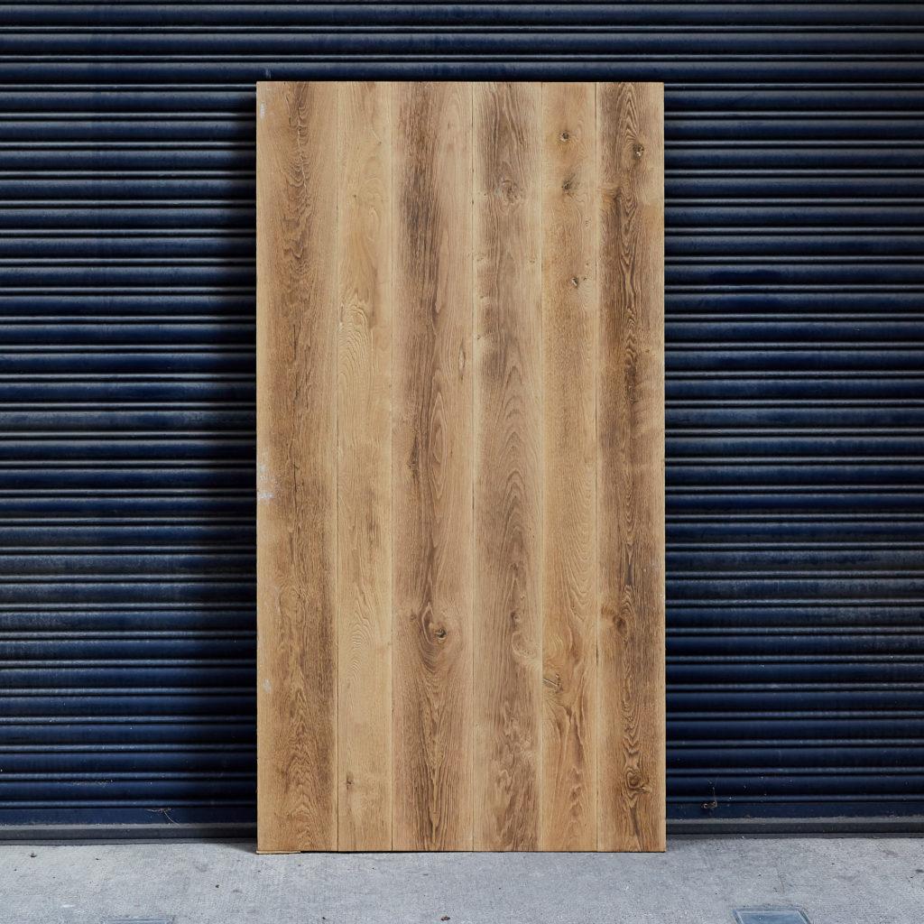 Wide natural waxed oak panel,-0