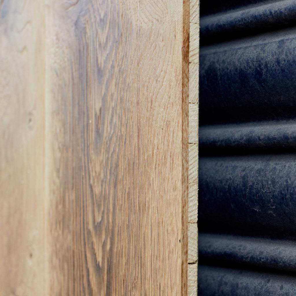 Wide natural waxed oak panel,-118158