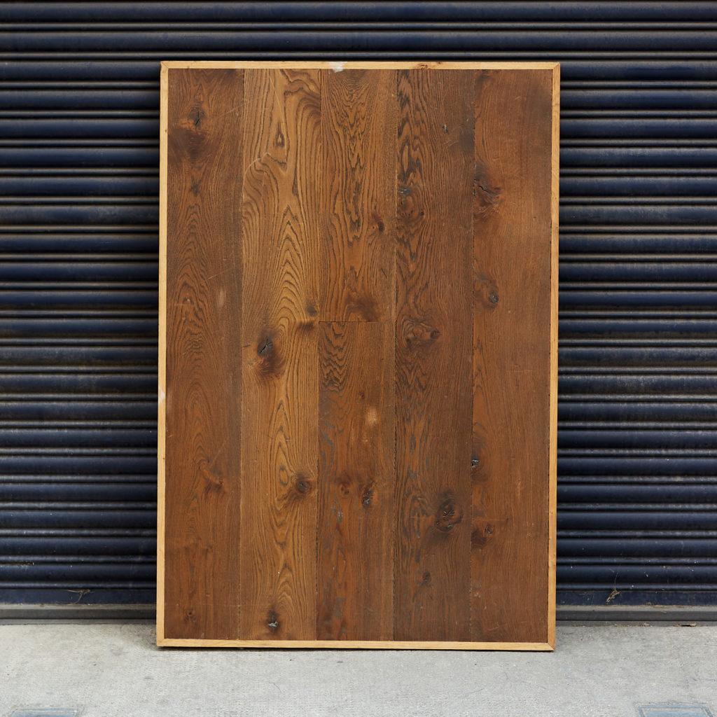 Smoked Argonne oak table top,-0