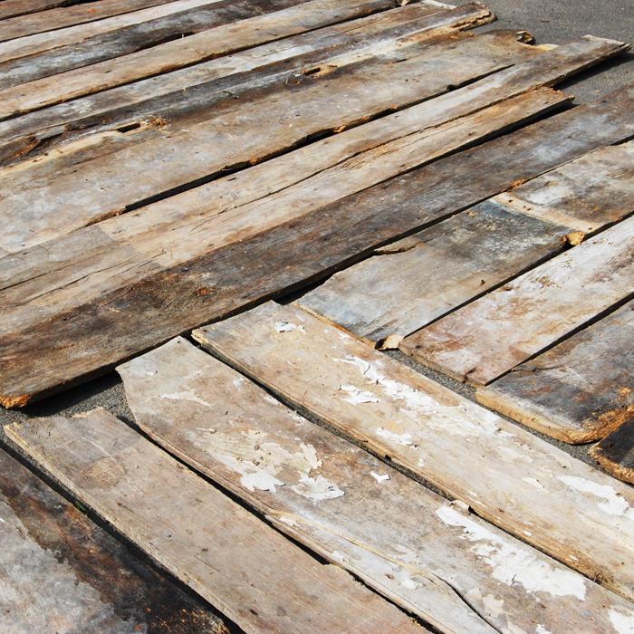 Old English Elm Floorboards