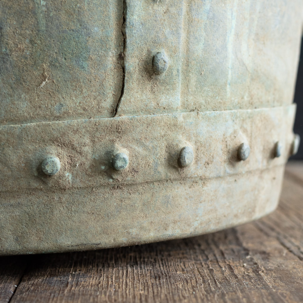 Nineteenth century copper vat,-118421