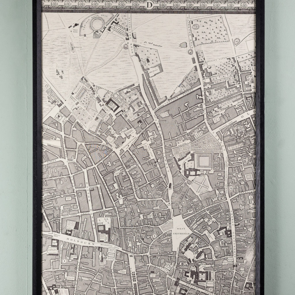 A plan of the cities of London and Westminster, and borough of Southwark,-118710