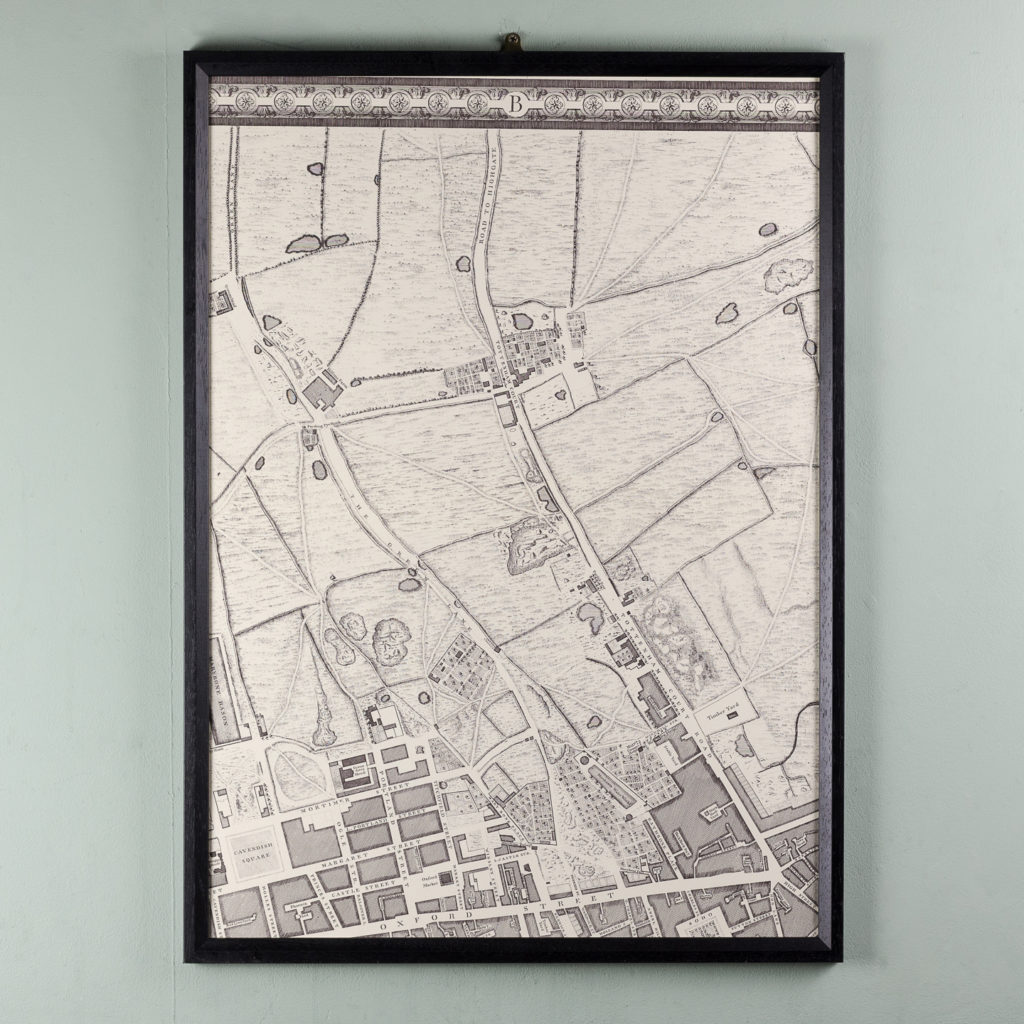 A plan of the cities of London and Westminster, and borough of Southwark,-118722