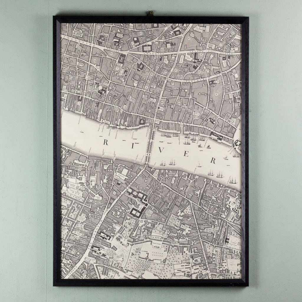 A plan of the cities of London and Westminster, and borough of Southwark,-118728