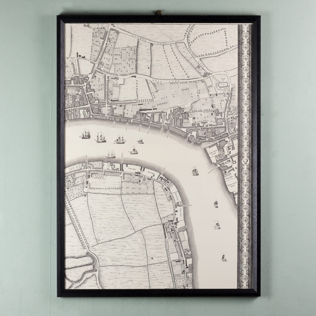 A plan of the cities of London and Westminster, and borough of Southwark,-118719