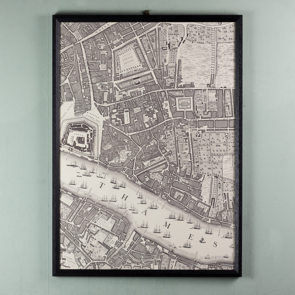 A plan of the cities of London and Westminster, and borough of Southwark,-118708