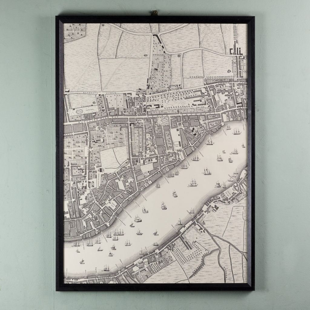 A plan of the cities of London and Westminster, and borough of Southwark,-118718