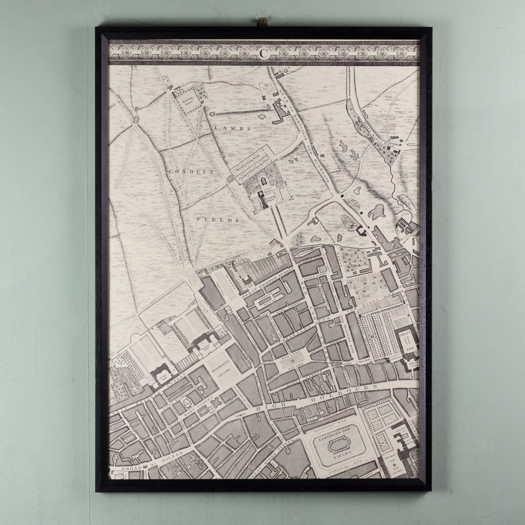 A plan of the cities of London and Westminster, and borough of Southwark,-118717