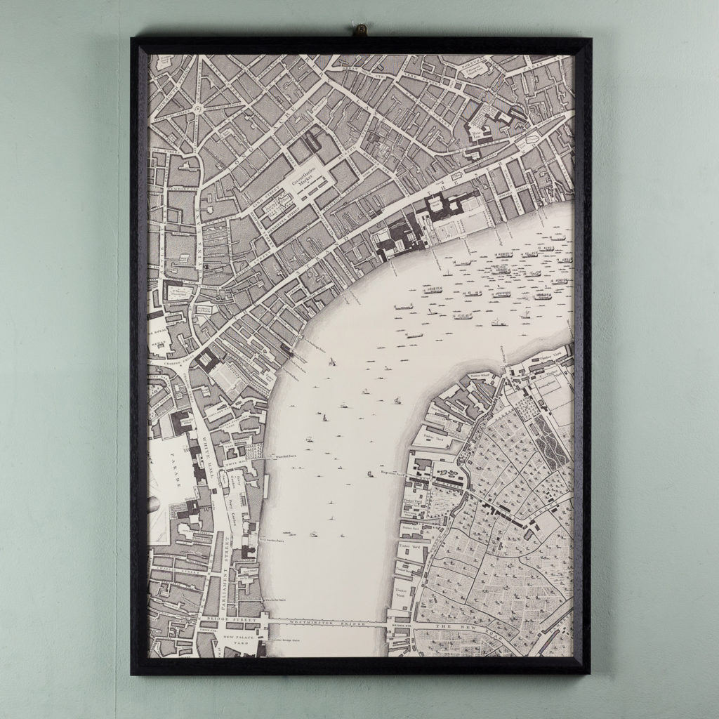 A plan of the cities of London and Westminster, and borough of Southwark,-118714