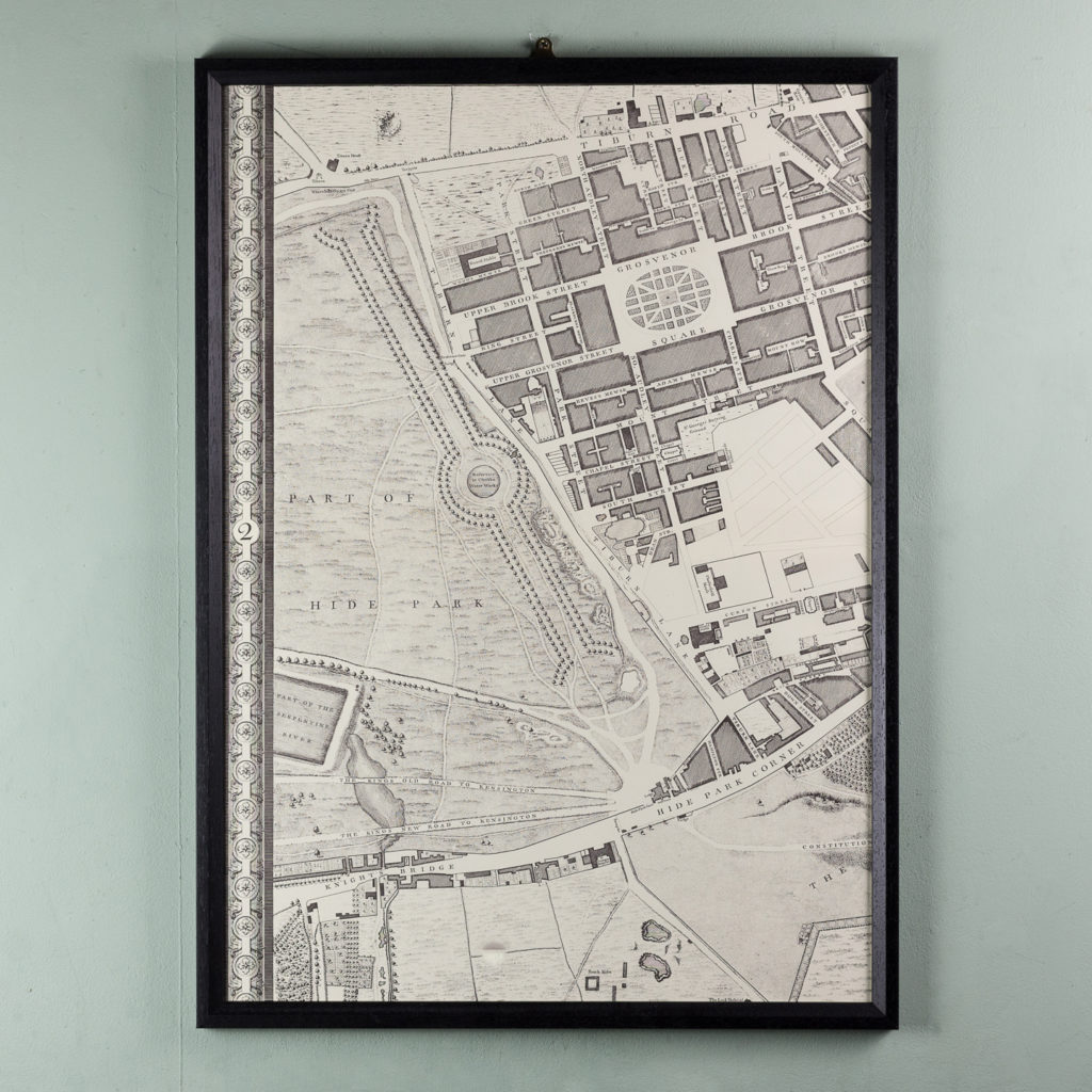 A plan of the cities of London and Westminster, and borough of Southwark,-118707