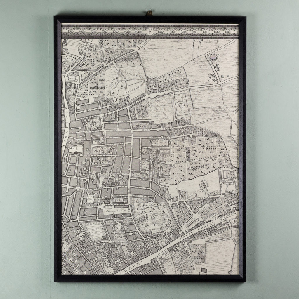 A plan of the cities of London and Westminster, and borough of Southwark,-118705