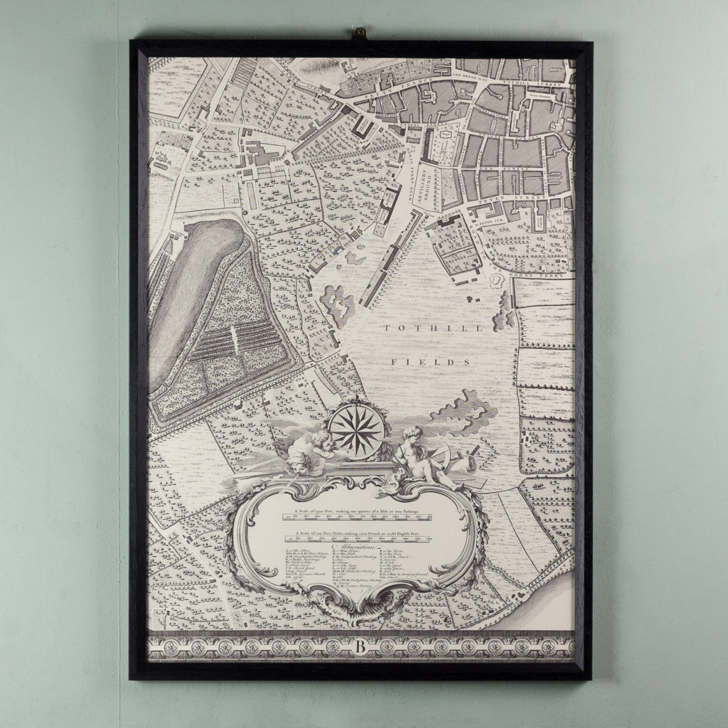 A plan of the cities of London and Westminster, and borough of Southwark,-118720