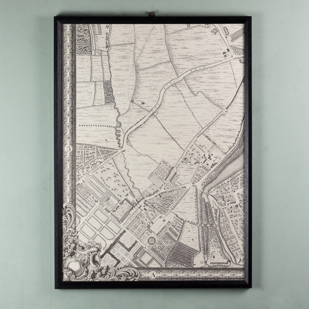 A plan of the cities of London and Westminster, and borough of Southwark,-118725