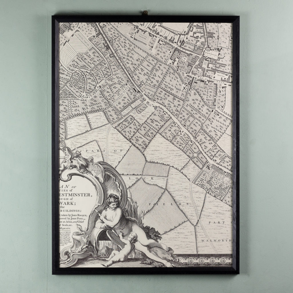 A plan of the cities of London and Westminster, and borough of Southwark,-118706