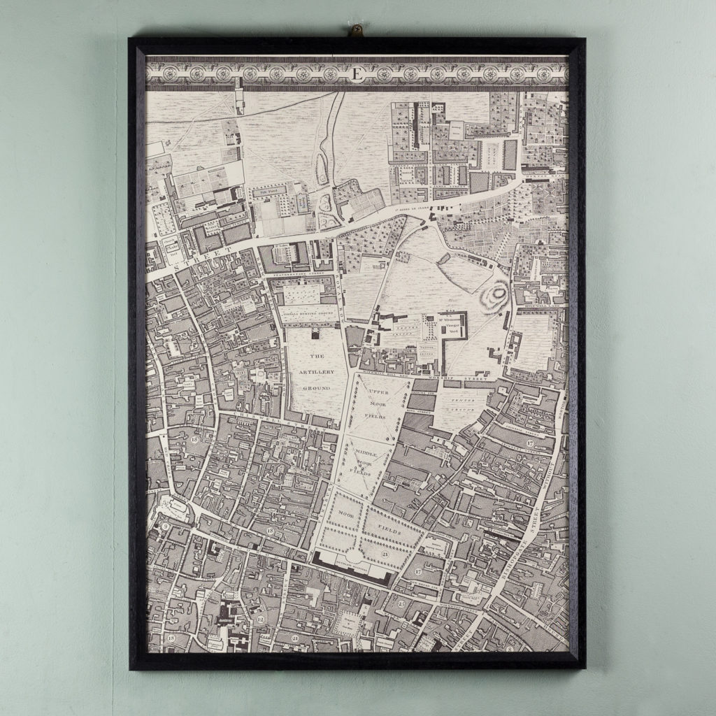 A plan of the cities of London and Westminster, and borough of Southwark,-118711