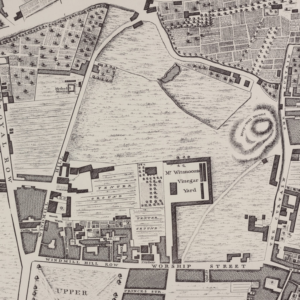 A plan of the cities of London and Westminster, and borough of Southwark,-118726