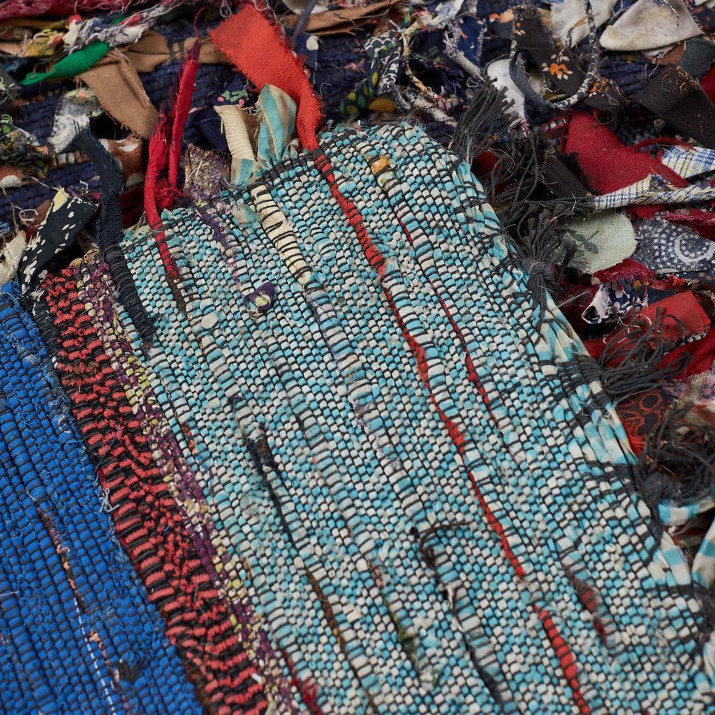 Swedish rag rug,-118475