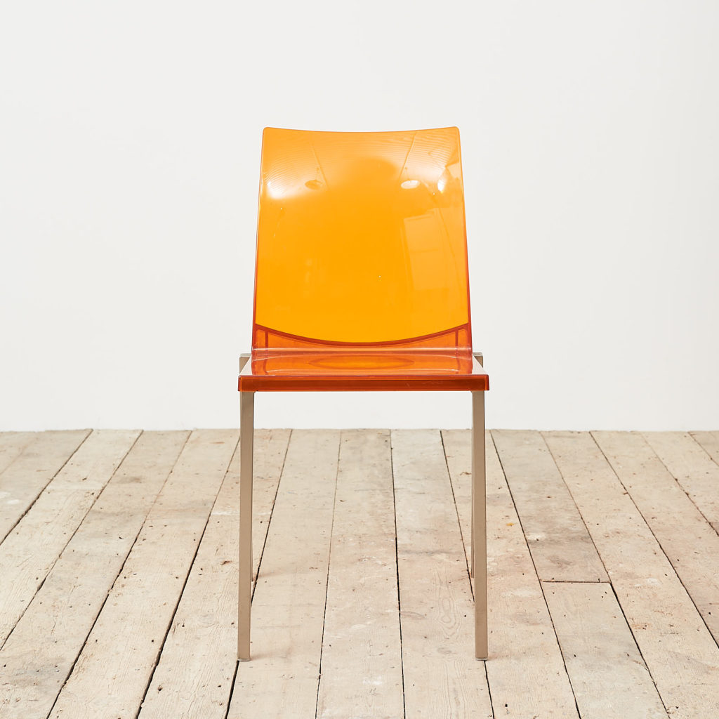 Contemporary acrylic chair by Pedrali, -119810