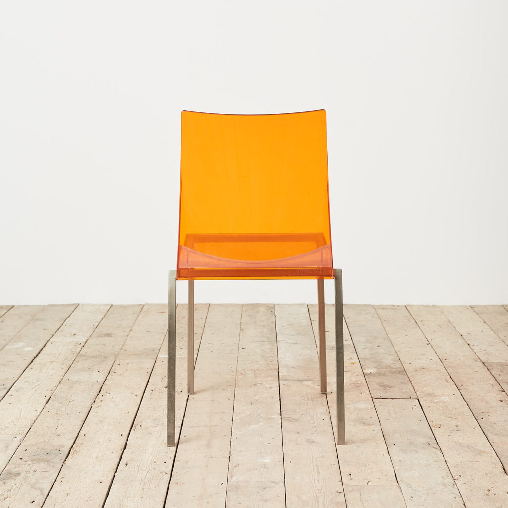 Contemporary acrylic chair by Pedrali, -119811