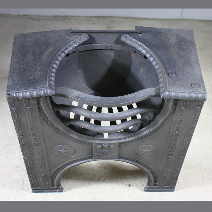 A George III cast iron hob grate,-129800