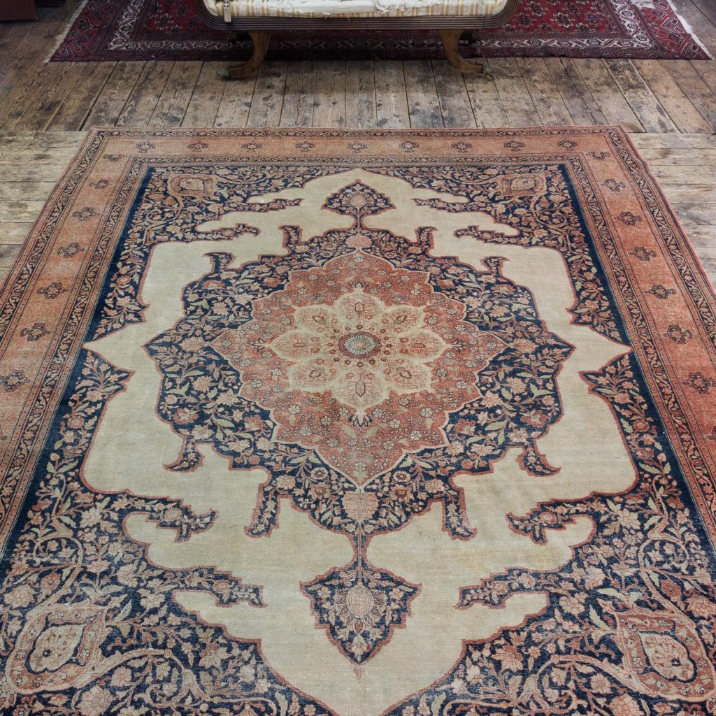 Late nineteenth century Haji Jalili Tabriz rug,-118946