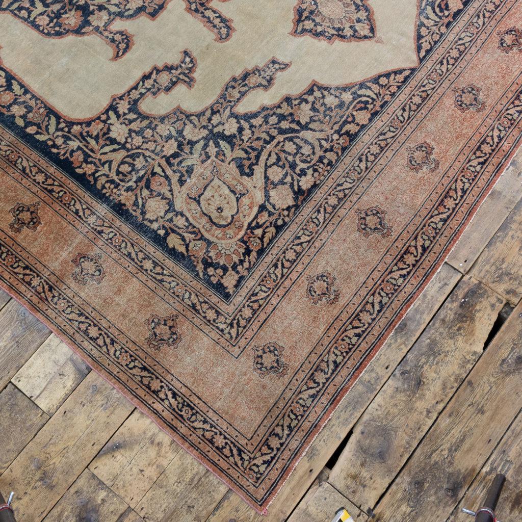 Late nineteenth century Haji Jalili Tabriz rug,-118953