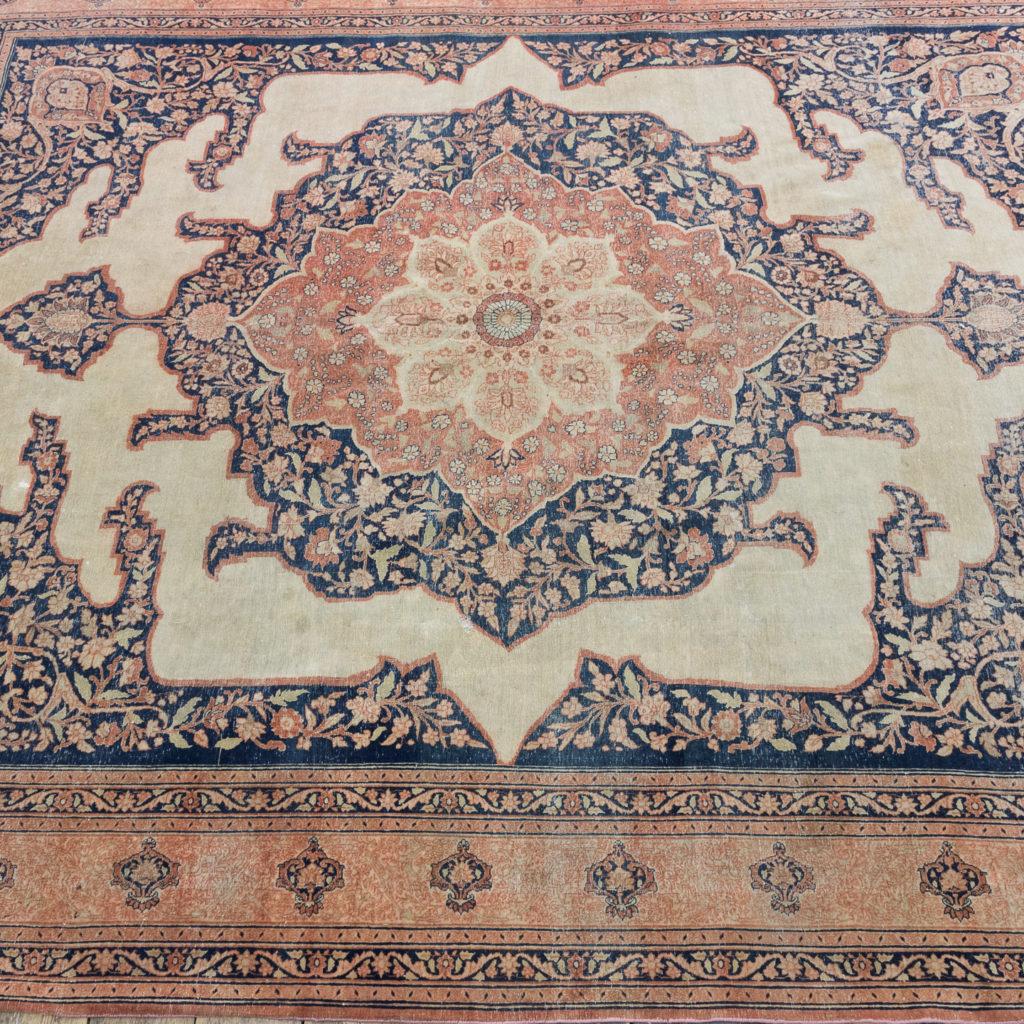 Late nineteenth century Haji Jalili Tabriz rug,-118958