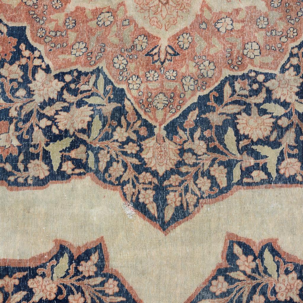 Late nineteenth century Haji Jalili Tabriz rug,-118960