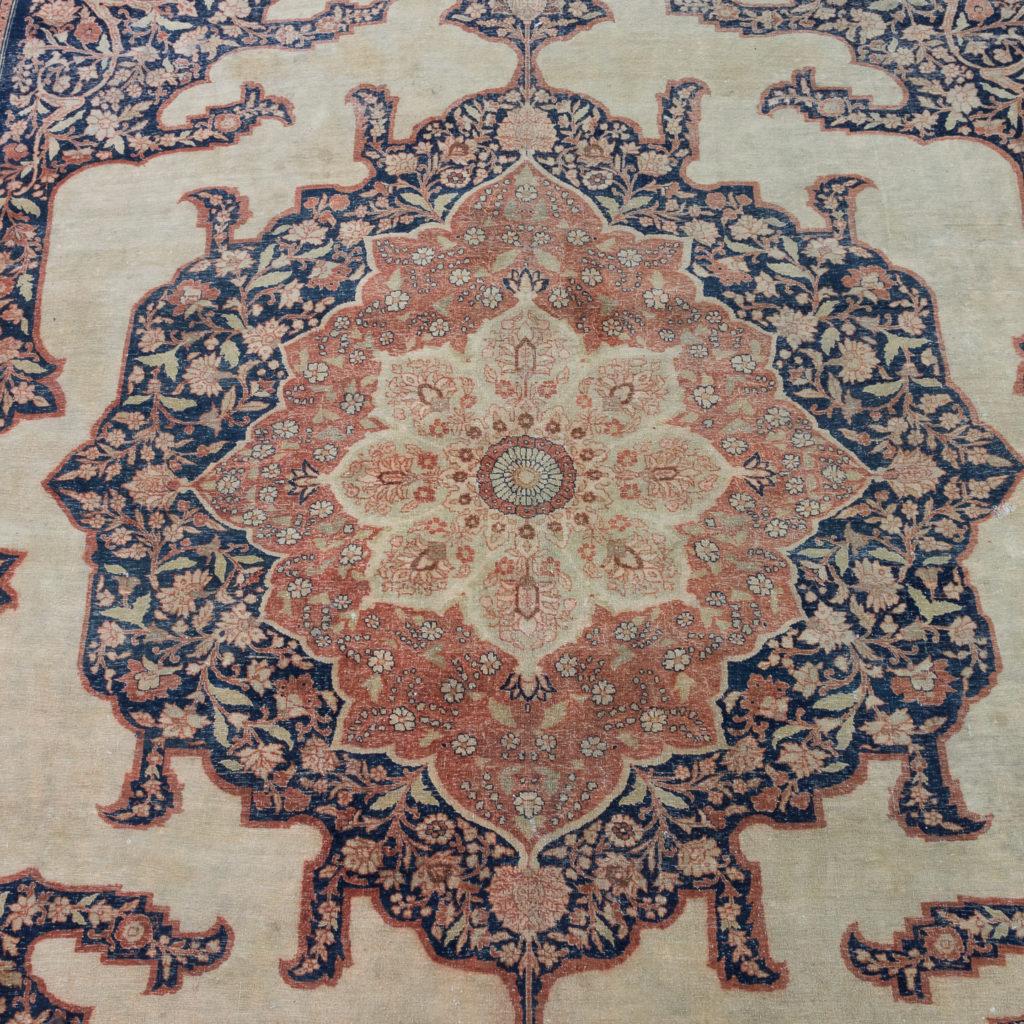 Late nineteenth century Haji Jalili Tabriz rug,-118957
