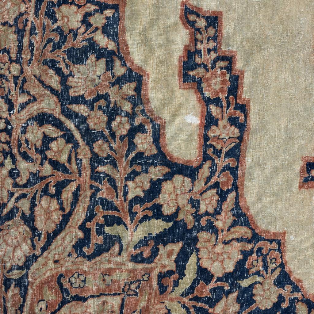 Late nineteenth century Haji Jalili Tabriz rug,-118954