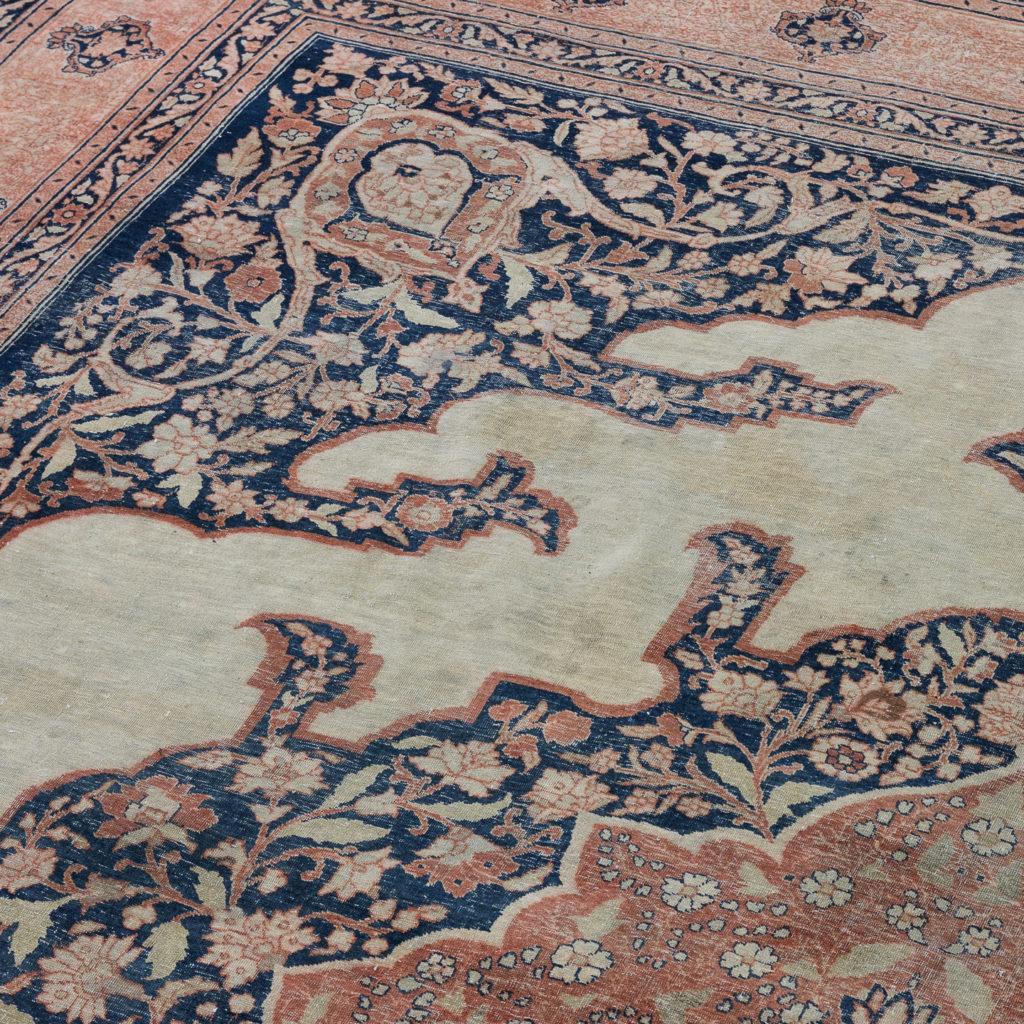 Late nineteenth century Haji Jalili Tabriz rug,-118950