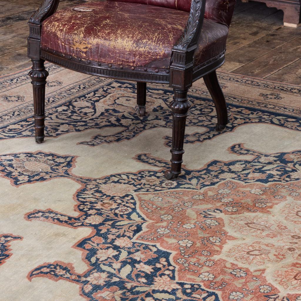 Late nineteenth century Haji Jalili Tabriz rug,-118959