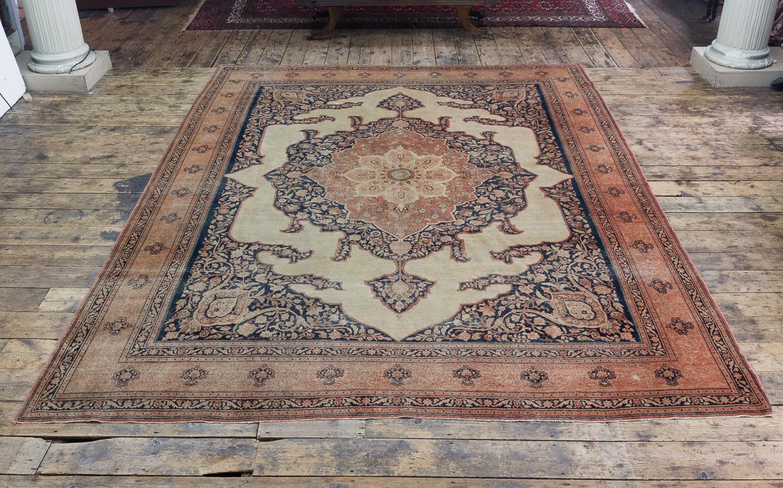 Late nineteenth century Haji Jalili Tabriz rug,-118952
