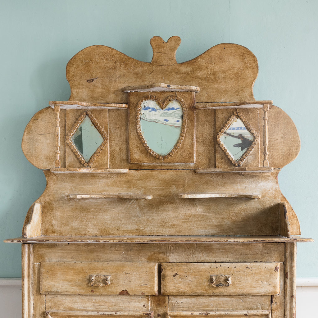 Early twentieth century tramp art dresser,-119506