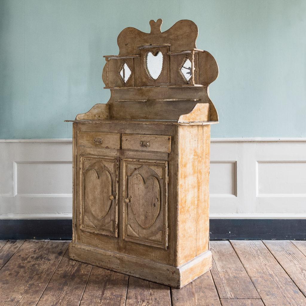 Early twentieth century tramp art dresser,-119502